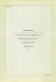 Page 7, 1924 Edition, Wilkinsburg High School - Annual Yearbook (Wilkinsburg, PA) online yearbook collection