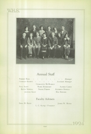 Page 8, 1924 Edition, Wilkinsburg High School - Annual Yearbook (Wilkinsburg, PA) online yearbook collection