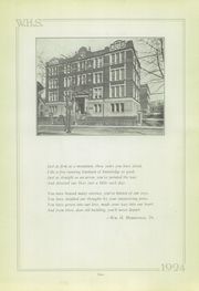 Page 9, 1924 Edition, Wilkinsburg High School - Annual Yearbook (Wilkinsburg, PA) online yearbook collection