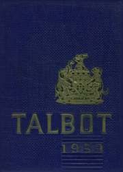 1953 Edition, Hampton High School - Talbot Yearbook (Allison Park, PA)