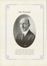 Page 10, 1928 Edition, Harris High School - Pioneer Yearbook (Harrisburg, PA) online yearbook collection