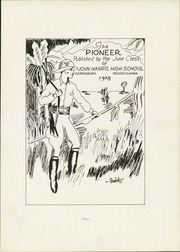 Page 7, 1928 Edition, Harris High School - Pioneer Yearbook (Harrisburg, PA) online yearbook collection