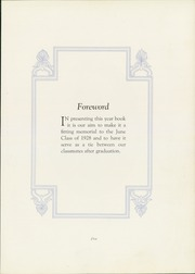 Page 9, 1928 Edition, Harris High School - Pioneer Yearbook (Harrisburg, PA) online yearbook collection