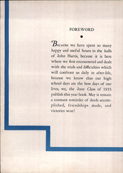 Page 8, 1935 Edition, Harris High School - Pioneer Yearbook (Harrisburg, PA) online yearbook collection