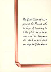 Page 10, 1937 Edition, Harris High School - Pioneer Yearbook (Harrisburg, PA) online yearbook collection