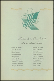 Page 10, 1945 Edition, Harris High School - Pioneer Yearbook (Harrisburg, PA) online yearbook collection