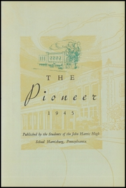 Page 7, 1945 Edition, Harris High School - Pioneer Yearbook (Harrisburg, PA) online yearbook collection
