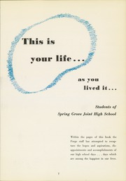 Page 11, 1954 Edition, Spring Grove High School - Forge Yearbook (Spring Grove, PA) online yearbook collection