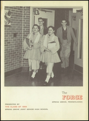 Page 5, 1956 Edition, Spring Grove High School - Forge Yearbook (Spring Grove, PA) online yearbook collection