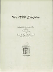 Page 5, 1944 Edition, Meyers High School - Colophon Yearbook (Wilkes Barre, PA) online yearbook collection