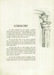 Page 6, 1946 Edition, Meyers High School - Colophon Yearbook (Wilkes Barre, PA) online yearbook collection