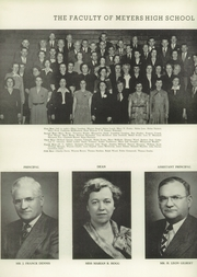Page 14, 1950 Edition, Meyers High School - Colophon Yearbook (Wilkes Barre, PA) online yearbook collection