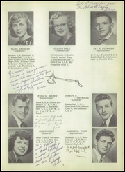 Page 15, 1950 Edition, Dallas Township High School - Dallastownian Yearbook (Dallas, PA) online yearbook collection