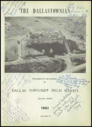 Page 5, 1951 Edition, Dallas Township High School - Dallastownian Yearbook (Dallas, PA) online yearbook collection