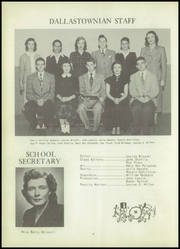 Page 8, 1951 Edition, Dallas Township High School - Dallastownian Yearbook (Dallas, PA) online yearbook collection
