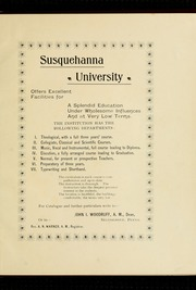 Page 5, 1903 Edition, Susquehanna University - Lanthorn Yearbook (Selinsgrove, PA) online yearbook collection