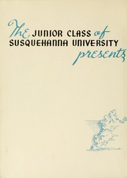 Page 6, 1941 Edition, Susquehanna University - Lanthorn Yearbook (Selinsgrove, PA) online yearbook collection