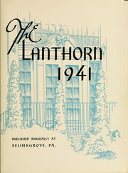 Page 7, 1941 Edition, Susquehanna University - Lanthorn Yearbook (Selinsgrove, PA) online yearbook collection