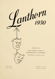 Page 7, 1950 Edition, Susquehanna University - Lanthorn Yearbook (Selinsgrove, PA) online yearbook collection