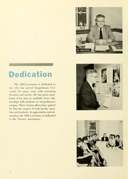 Page 6, 1964 Edition, Susquehanna University - Lanthorn Yearbook (Selinsgrove, PA) online yearbook collection
