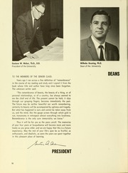 Page 16, 1966 Edition, Susquehanna University - Lanthorn Yearbook (Selinsgrove, PA) online yearbook collection