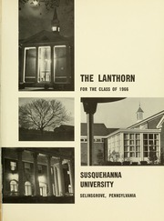 Page 5, 1966 Edition, Susquehanna University - Lanthorn Yearbook (Selinsgrove, PA) online yearbook collection