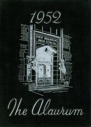 1952 Edition, New Brighton High School - Alaurum Yearbook (New Brighton, PA)