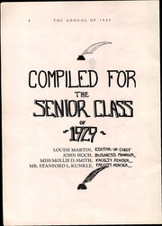 Page 8, 1929 Edition, Milton High School - Echoes Yearbook (Milton, PA) online yearbook collection
