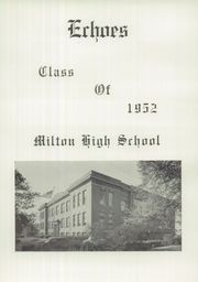 Page 5, 1952 Edition, Milton High School - Echoes Yearbook (Milton, PA) online yearbook collection
