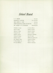 Page 12, 1958 Edition, Milton High School - Echoes Yearbook (Milton, PA) online yearbook collection