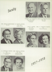 Page 13, 1958 Edition, Milton High School - Echoes Yearbook (Milton, PA) online yearbook collection
