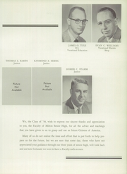 Page 17, 1958 Edition, Milton High School - Echoes Yearbook (Milton, PA) online yearbook collection