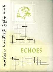 1959 Edition, Milton High School - Echoes Yearbook (Milton, PA)