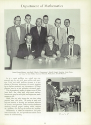 Page 17, 1960 Edition, York Suburban High School - Profile Yearbook (York, PA) online yearbook collection