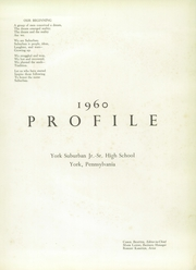 Page 5, 1960 Edition, York Suburban High School - Profile Yearbook (York, PA) online yearbook collection