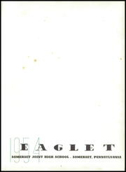 Page 5, 1954 Edition, Somerset Area High School - Eaglet Yearbook (Somerset, PA) online yearbook collection