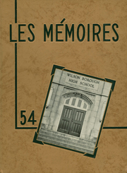 1954 Edition, Wilson Area High School - Les Memoires Yearbook (Easton, PA)