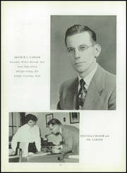 Page 14, 1955 Edition, Wilson Area High School - Les Memoires Yearbook (Easton, PA) online yearbook collection