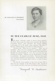 Page 11, 1941 Edition, Kensington High School - Chimes Yearbook (Philadelphia, PA) online yearbook collection