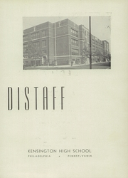 Page 11, 1946 Edition, Kensington High School - Chimes Yearbook (Philadelphia, PA) online yearbook collection