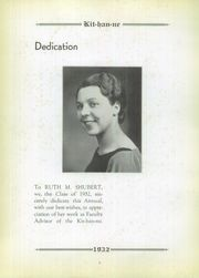 Page 10, 1932 Edition, Kittanning High School - Kit Han Ne Yearbook (Kittanning, PA) online yearbook collection
