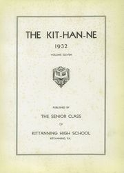 Page 5, 1932 Edition, Kittanning High School - Kit Han Ne Yearbook (Kittanning, PA) online yearbook collection
