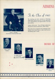 Page 14, 1943 Edition, Kittanning High School - Kit Han Ne Yearbook (Kittanning, PA) online yearbook collection