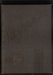 1945 Edition, Kittanning High School - Kit Han Ne Yearbook (Kittanning, PA)