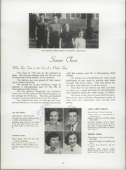 Page 14, 1952 Edition, Waynesburg Central High School - Oracle Yearbook (Waynesburg, PA) online yearbook collection