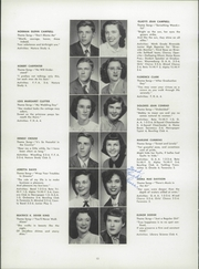 Page 16, 1952 Edition, Waynesburg Central High School - Oracle Yearbook (Waynesburg, PA) online yearbook collection