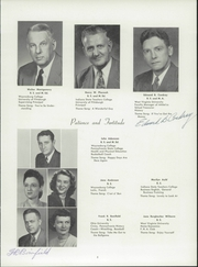 Page 9, 1952 Edition, Waynesburg Central High School - Oracle Yearbook (Waynesburg, PA) online yearbook collection