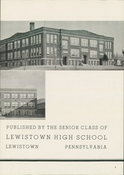 Page 7, 1948 Edition, Lewistown High School - Lore Yearbook (Lewistown, PA) online yearbook collection
