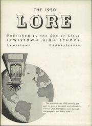 Page 5, 1950 Edition, Lewistown High School - Lore Yearbook (Lewistown, PA) online yearbook collection