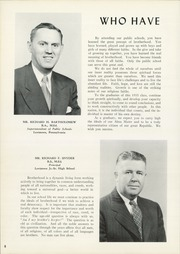 Page 12, 1955 Edition, Lewistown High School - Lore Yearbook (Lewistown, PA) online yearbook collection